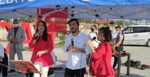 Alaçam'da 29 Ekim Cumhuriyet Bayramı kutlaması