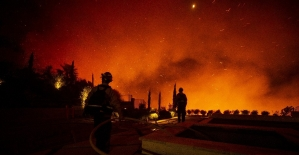 California'da yangınlar kontrolden çıktı