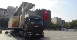 Çanakkale ruhu mobil müze ile Diyarbakır'a taşındı