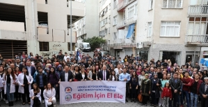 Denizli'de üniversite adaylarına eğitim desteği