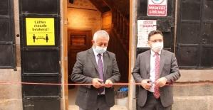 Hattat Ahmet Şemseddin Karahisari Türk İslam Sanatları Galerisi açıldı