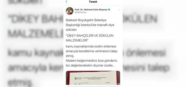 İstanbul'un yeşiline AK Parti'li belediye sahip çıkacak