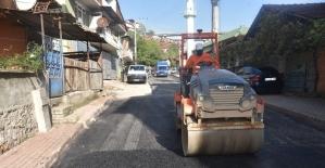 İzmit Serdar Mahallesi yolları yenileniyor