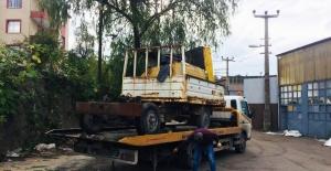 Kdz. Ereğli Belediyesi sanayi sitelerini hurda araçlardan temizliyor
