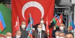 Manisa'da hemşehri derneklerinden Azerbaycan'a tam destek