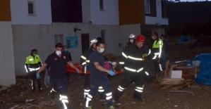 Ordu'da asansör yere çakıldı: 5 yaralı