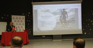 SODİMER Başkanı Eraslan Silopi'de Konferans verdi