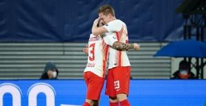 UEFA Şampiyonlar Ligi: Red Bull Leipzig: 2 - M.Başakşehir: 0 (İlk yarı)