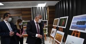 '11. Tarım ve İnsan Fotoğraf Sergisi' İl Müdürlüğü Hizmet Binasında sergilenmeye başlandı