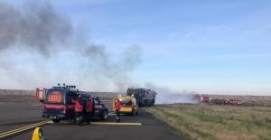 Ordu-Giresun Havalimanı'nda acil durum ve yangın tatbikatı