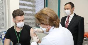 (Özel) ERÜ'den bir aşı müjdesi daha