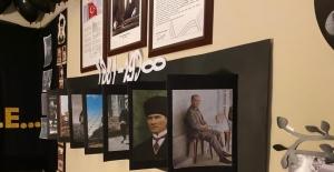 Rize'de pandemi dolayısıyla müzeye gidemeyen öğrenciler müzeyi okulda kurdu