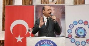 """Türk Eğitim-Sen Genel Başkanı Geylan: """"Bakanlık ivedi şekilde gereğini yapmalı"""""""