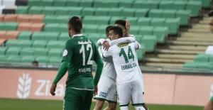 Ziraat Türkiye Kupası: Bursaspor: 1 - 1922 Konyaspor: 0 (İlk yarı sonucu)
