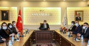 Engelli dernekleri başkanlarından Vali Bilmez'e ziyaret