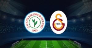 Galatasaray Rize'de 4'ledi