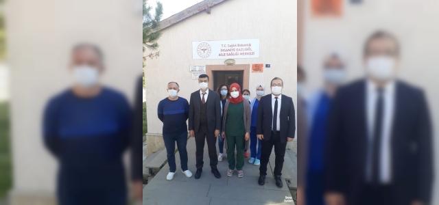 Gazlıgöl'de 112 acil sağlık istasyonu inşaatı devam ediyor