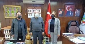AK Parti'den Başkan Şahin'e ziyaret
