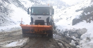 Beytüşşebap'ta kapalı köy yolları ulaşıma açılıyor