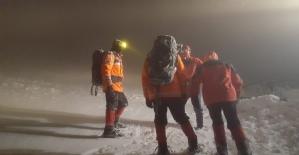 Bursada kayıp dağcı alarmı
