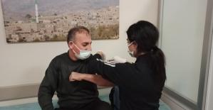 Gercüş'te korona virüs aşısına başlandı