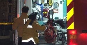 Haliç Köprüsünde feci kaza:...