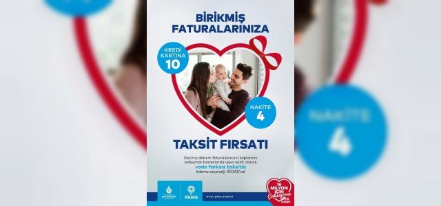 """İGDAŞ'tan geciken doğal gaz faturalarına """"10 taksitle"""" ödeme fırsatı"""