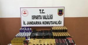 Isparta'da çok sayıda kaçak cinsel uyarıcı ürün ele geçirildi