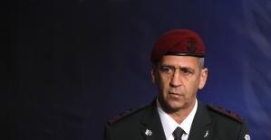 İsrail Genelkurmay Başkanından...