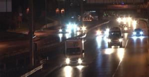İstanbulda sokağa çıkma kısıtlaması...