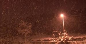 İstanbulda yoğun kar yağışı...