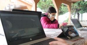 İzmit'te 5 köy internete kavuştu