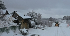 Meteorolojiden Bursa ve çevre iller için kar uyarısı