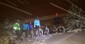 Milli sporcu adayları kar kış dinlemeden çalışıyorlar