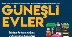 Nazilli Belediyesi Güneşli Evler Projesi ile kalplere dokunuyor
