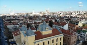 (Özel) Edirne'deki Avrupa'nın üçüncü büyük sinagogu 5 yıldır katılımcılarını ağırlıyor