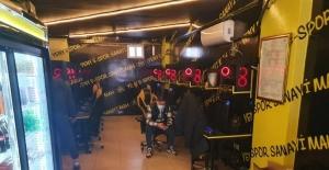 (Özel) Kepengi indirip oyun partisi verenlere 17 bin lira ceza kesildi