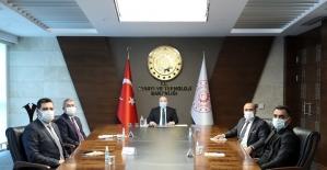 Van TSO sorunları Bakan Varank'a iletti