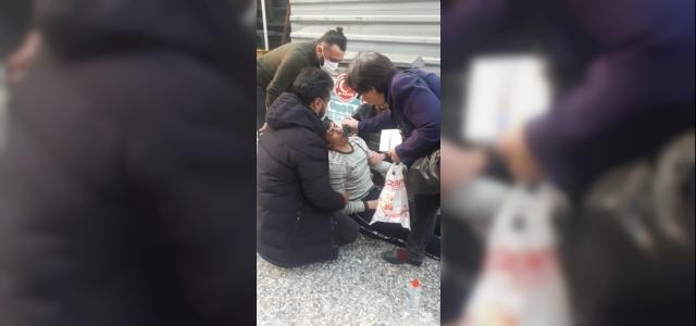 Astım krizi geçiren çocuğun yardımına Mobil Park Ekibi koştu