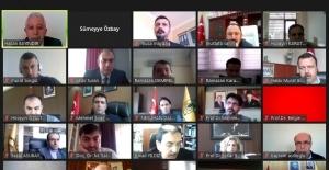 DÜ'de 2021 yılı birinci kalite komisyonu toplantısı yapıldı