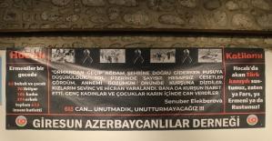 """Giresun Azerbaycanlılar Derneği """"Hocalı Katliamı"""" kurbanlarını andı"""