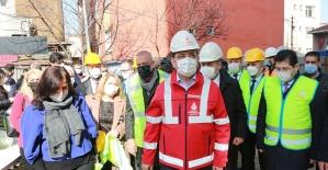İBB Başkanı Ekrem İmamoğlu Ataşehir'de incelemelerde bulundu