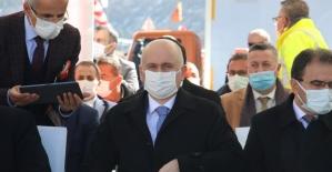 """Kızılcahamam'ı Çankırı'ya bağlayan """"Kızılcahamam-Çerkeş Tüneli"""" açıldı"""