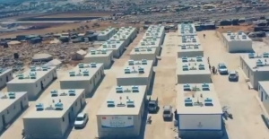 Şanlıurfalı hayırseverlerin desteği ile İdlib'de 90 ev yapılıyor