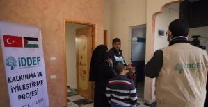 Yürekleri dağlayan Filistinli anne yeni evine kavuştu