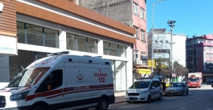 Ambulansın karıştığı kaza korkuttu