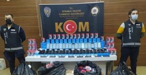 İstanbul'da 4 bin kaçak cep telefonu ele geçirildi