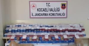 Kocaeli'de 52 bin 200 adet makaron ele geçirildi