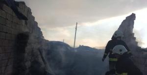 Özalp ilçesinde korkutan yangın