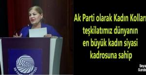 Özülkü: Dünyanın en büyük kadın siyasi kadrosu AK Parti'de